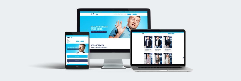 VHP Webseite