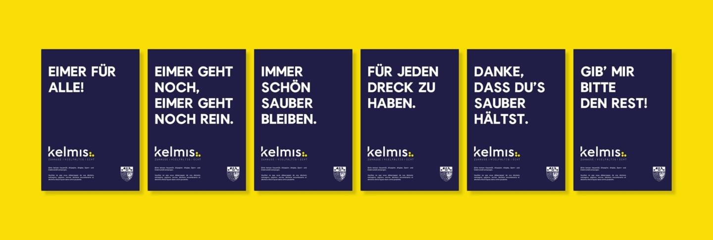 Gemeinde Kelmis Mülleimer