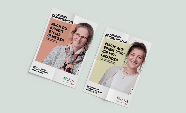 EMJA Posterkampagne