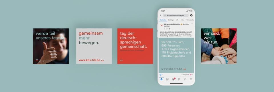 Bürgerfonds Ostbelgien Social Media