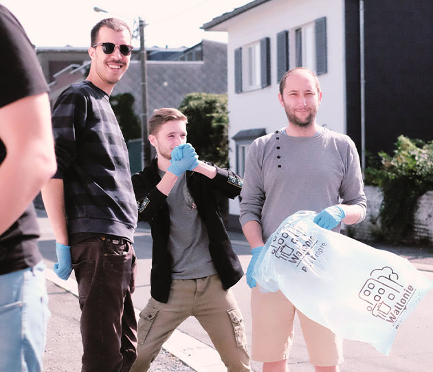 world clean up cloth kreativbureau