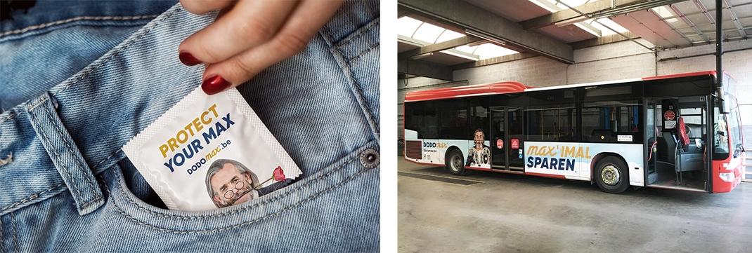 Dodomax Busbeschriftung