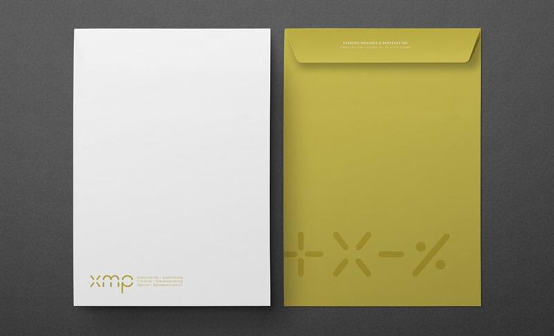 XMP Briefpapier Umschlag