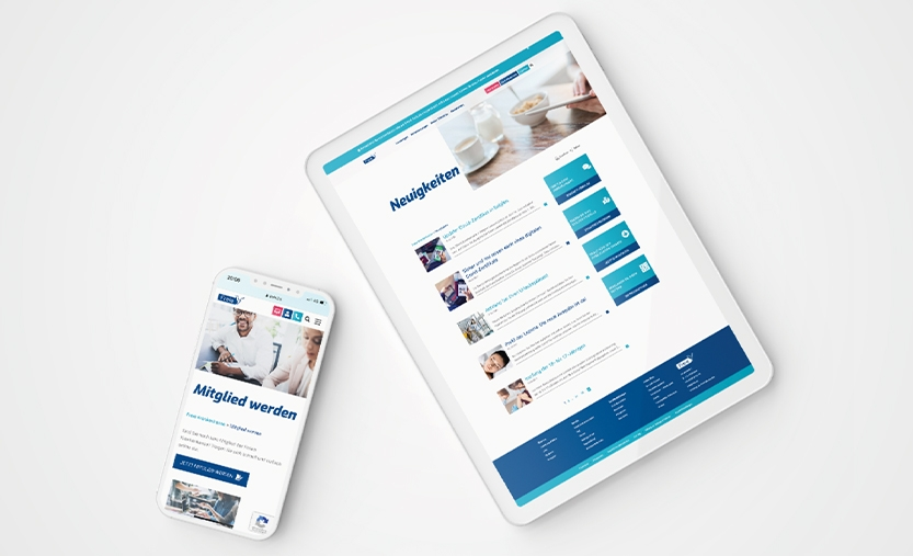 Freie Krankenkasse Webseite