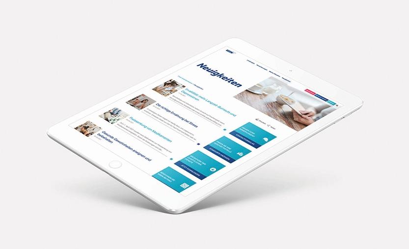 Freie Krankenkasse iPad