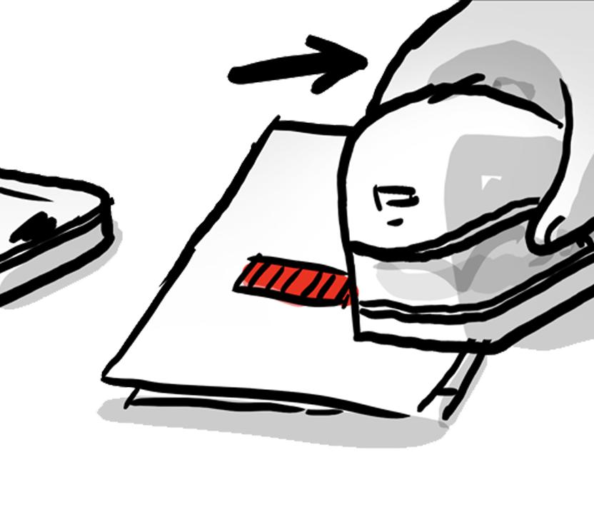 Colop e-mark create Illustration Skizzen