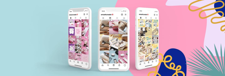 Colop e-mark create Instagram