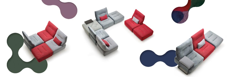 ROM Sofas und Muster
