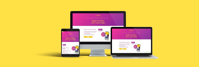Tchamba Webseite