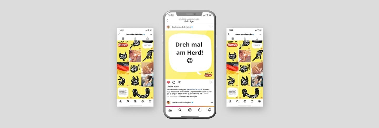 Alors on Deutsch Social Media