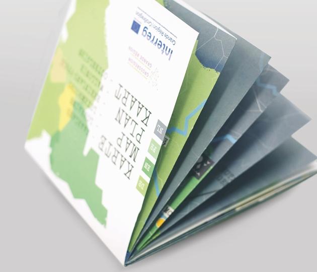 Interreg Touristische Karte