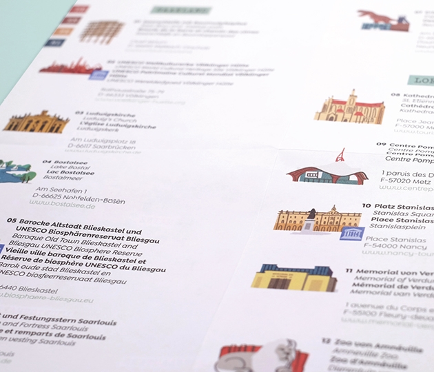 Interreg Karte Innenansicht