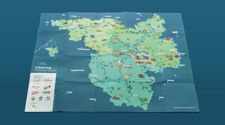 Interreg Karte Außenansicht