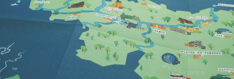 Interreg Karte Detailansicht