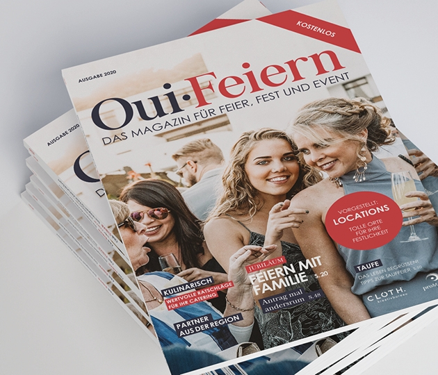 Oui Magazin Cover